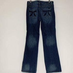 Seven7 Boot Cut Jeans Womens Size 10 Dark Wash